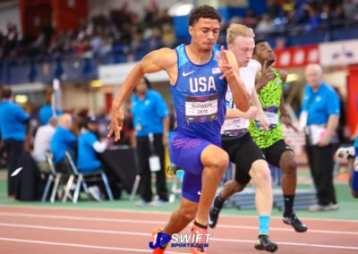Anthony Schwartz your 60m New Balance Indoor National Champion