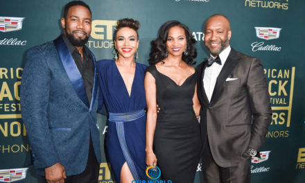 THE 2018 AMERICAN BLACK FILM FESTIVAL HONORS WAS A NIGHT TO REMEMBER