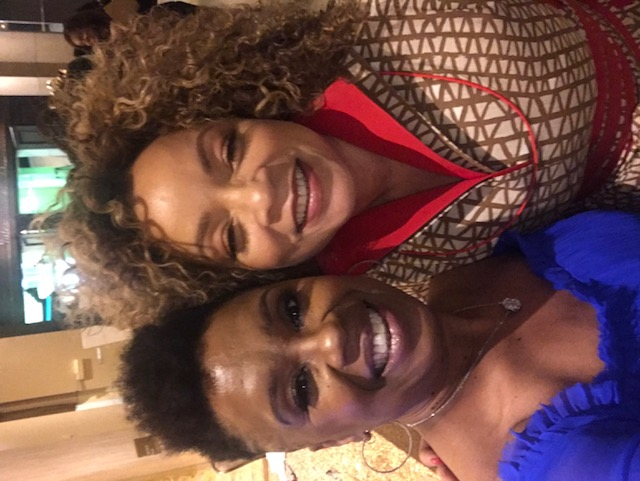 Dawn Kelly and Ruth Carter, costume designer for Black Panther