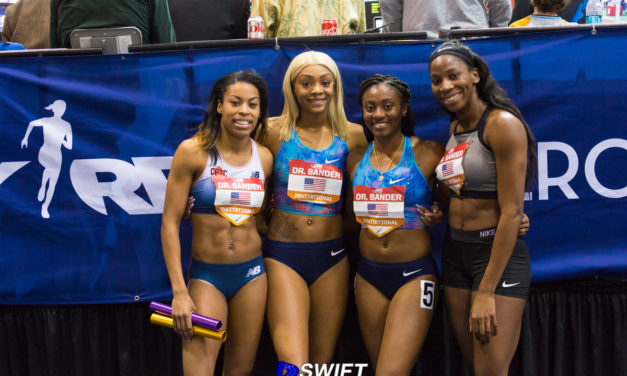 USA 4×200 Women Establish American Record At Dr. Sander Invitational at The Armory