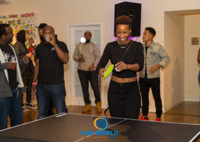 Hard 2 Guard-Paddle of the Sexes 3 -Celebrity Ping Pong Tournament (10.16.17)