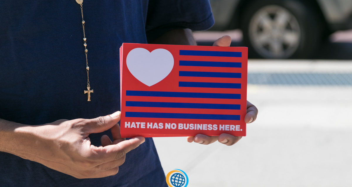 Hate Has No Business Here -Press Conference