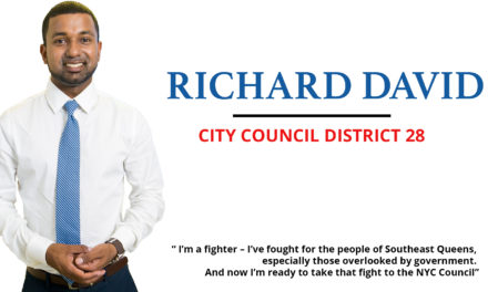 Richard David — A fighter for Southeast Queens City Council District 28