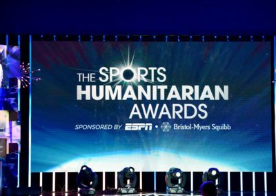 Third Annual Sports Humanitarian Awards