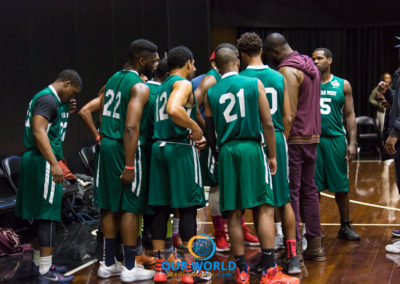 NCBL All Stars East VS West @ The Barclays Center