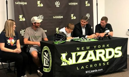 13 Year Old Mason Batz: The Youngest and Bravest Player on the New York Lizards Lacrosse Team