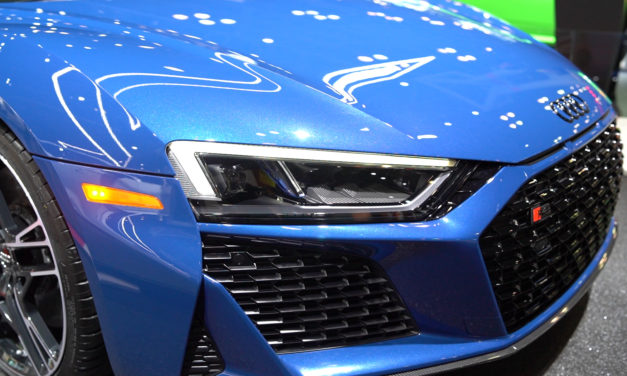 AUDI R8 at the New York International Auto Show 2019