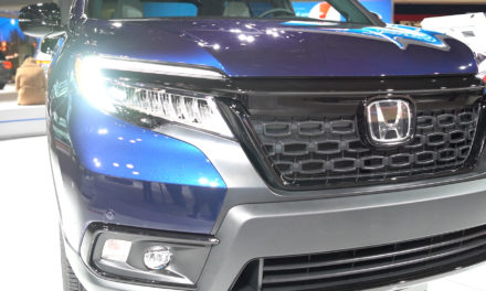 2019 Honda Passport at the New York International Auto Show 2019