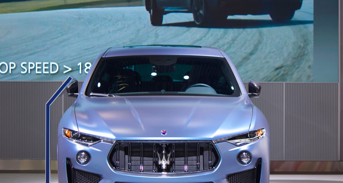 MASERATI LEVANTE ONE OF ONE at the New York International Auto Show 2019