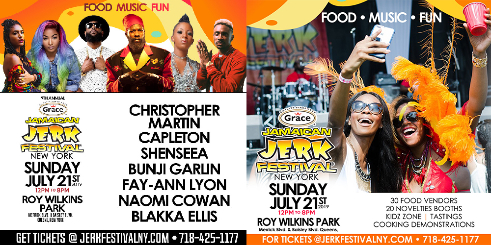 Celebrating almost a decade, the 2019 Grace Jamaican Jerk Festival