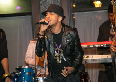 DeVerne Williams and The Vintage Soul Band at The Elegant Space Lounge Bar -20