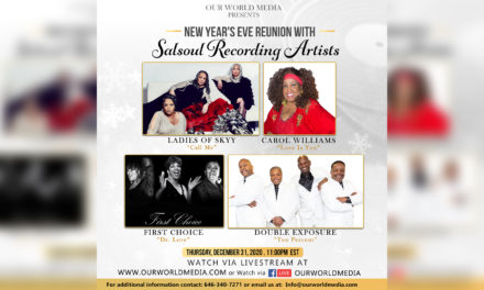 New Year's eve reunion with Salsoul Recording Artists