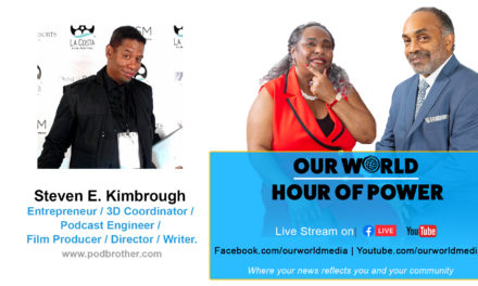 Interview with Steven E. Kimbrough – Entrepreneur / 3D Coordinator / Podcast Engineer / Film